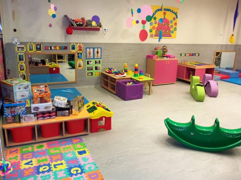 Escuela infantil la patria chica for Decoracion aula infantil